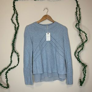 NWT Lucky Brand Cashmere Knit Sweater